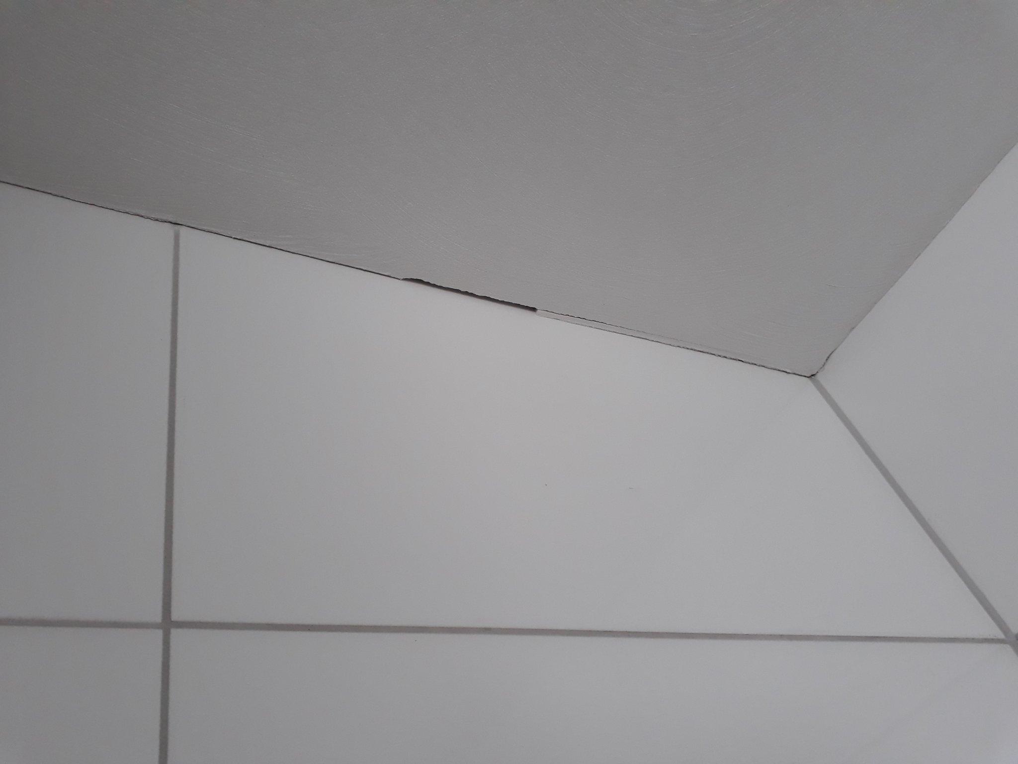 Afkitten badkamer toilet werkspot