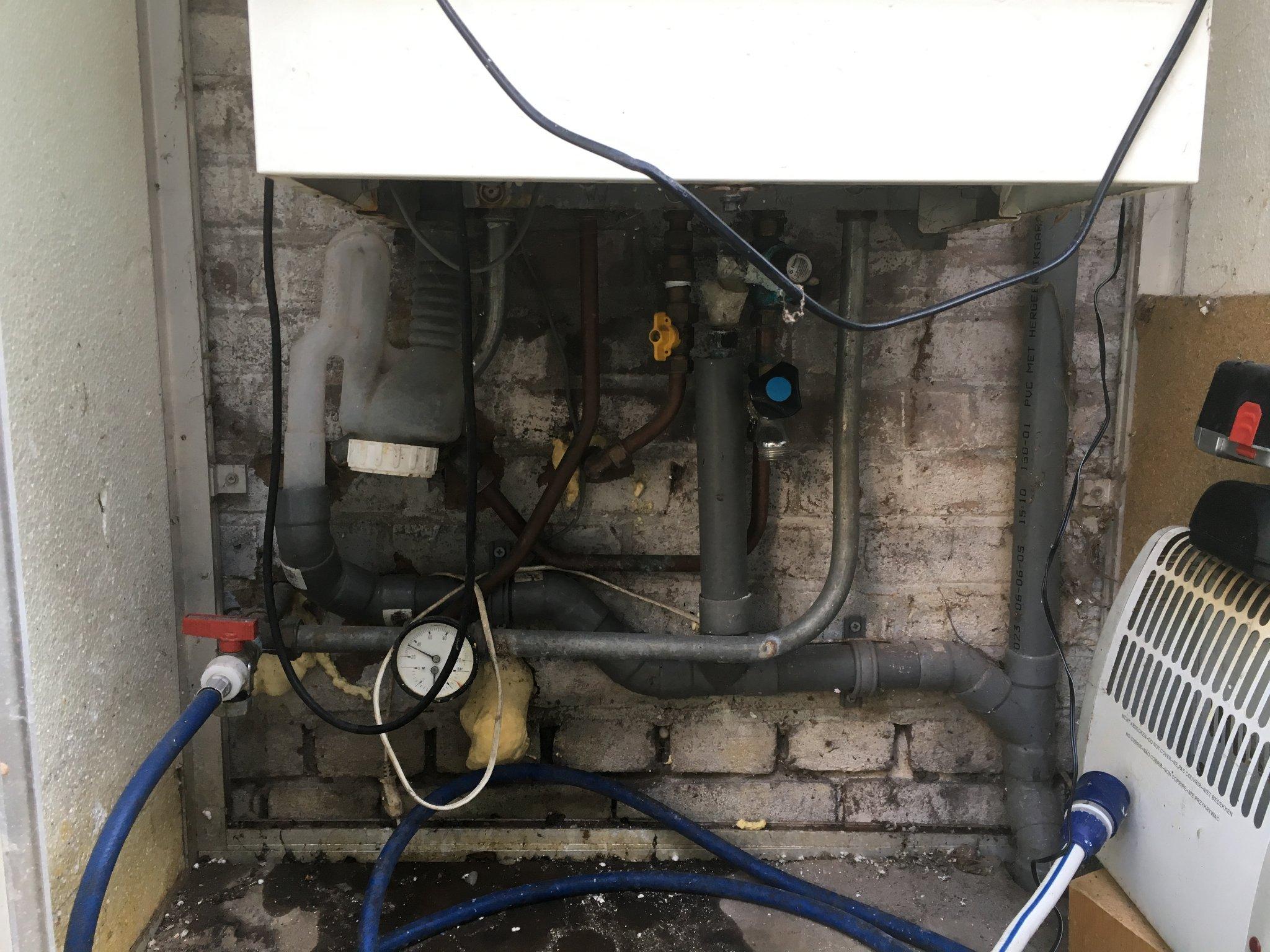 Tuinhuis installatiewerk (CV-ketel, wasmachine, verlichting) - Werkspot