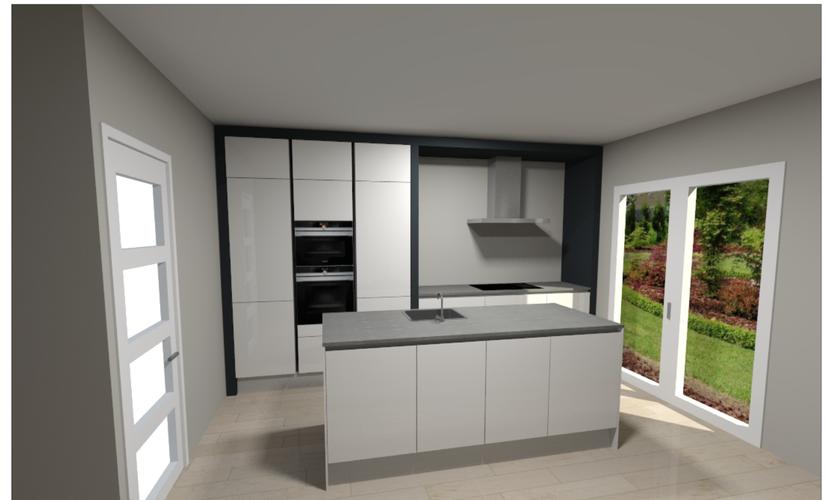 Voorkeur Wie schildert de ombouw (MDF) van onze nieuwe keuken? - Werkspot HE41