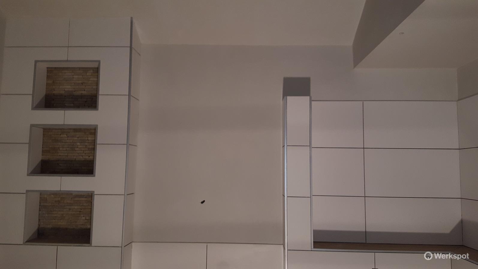 Stucen badkamer 20,5 m2 - Werkspot