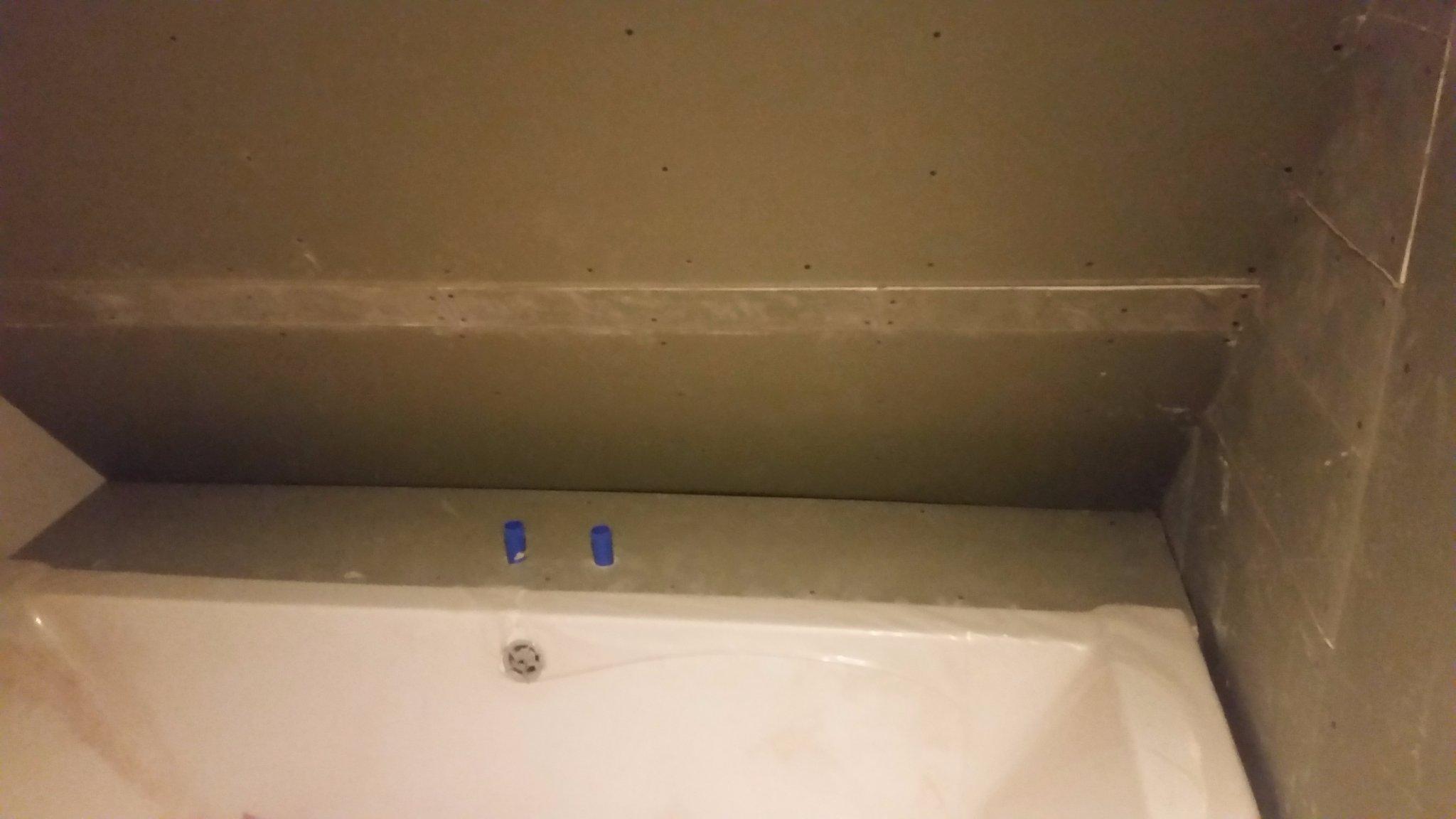 Badkamer waterdicht maken betegelen en wanneer gereed wc