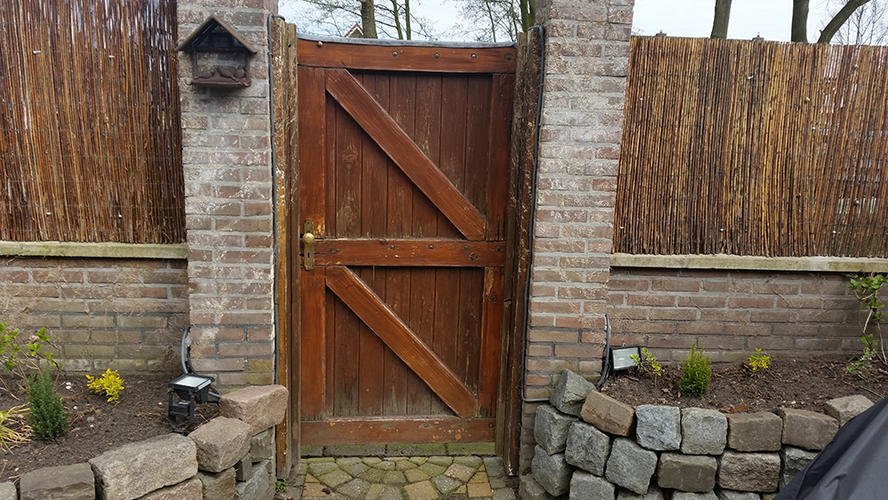 Top maken en vervangen houten tuindeur & poort - Werkspot @KP78