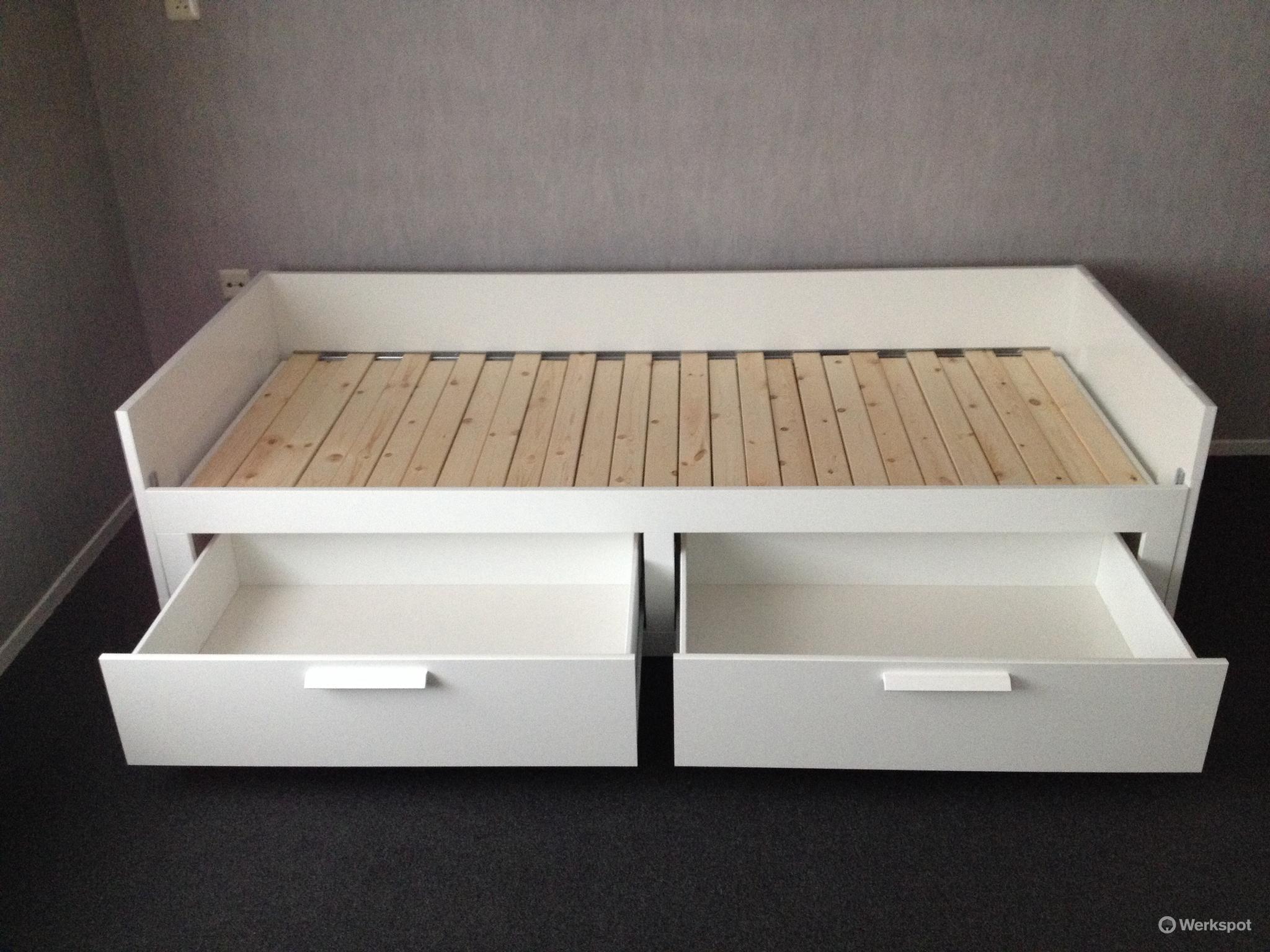 simple heb with brimnes bed ervaring. Black Bedroom Furniture Sets. Home Design Ideas