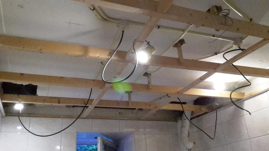met spoed gezocht gips plafond plaatsen. - Werkspot