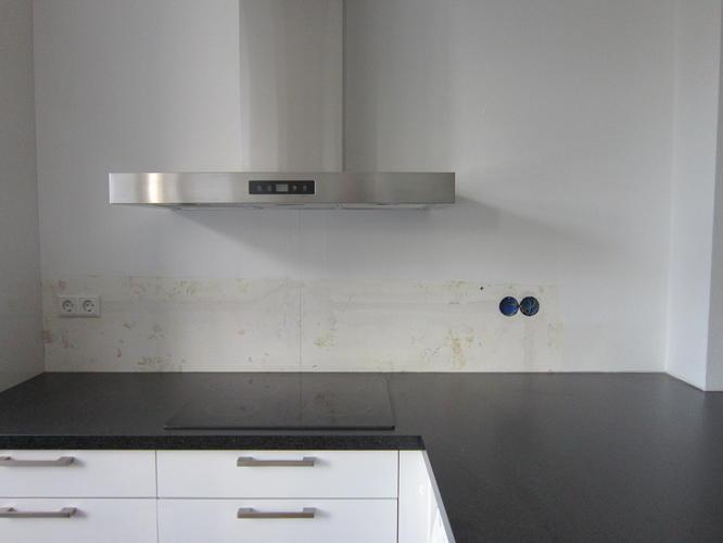 Melkglas Keuken Achterwand : Melkglas achterwand keuken werkspot