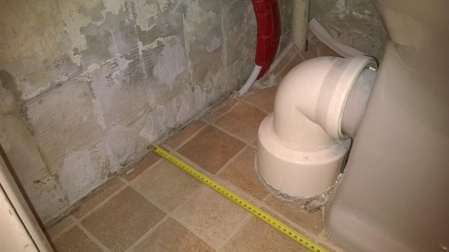 Staand toilet naar hangend toilet aanpassen afvoer werkspot