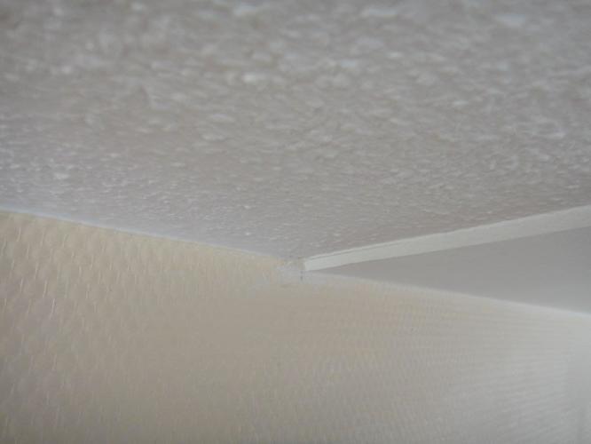 Plafond egaliseren werkspot for Glasvezelbehang sauzen