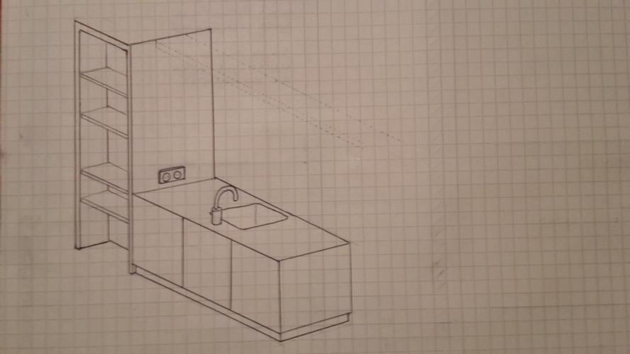 Kast (nis/inbouw) maken en koof aan plafond voor verlichting. - Werkspot