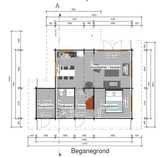Woonkamer, hal, slaapkamer, badkamer en schuur vloertegels leggen ...