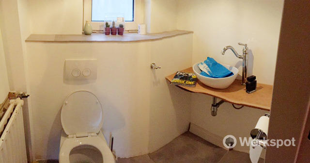 Badkamer Verplaatsen Kosten : Stucen woonkamer tegelen keuken badkamer verplaatsen toilet