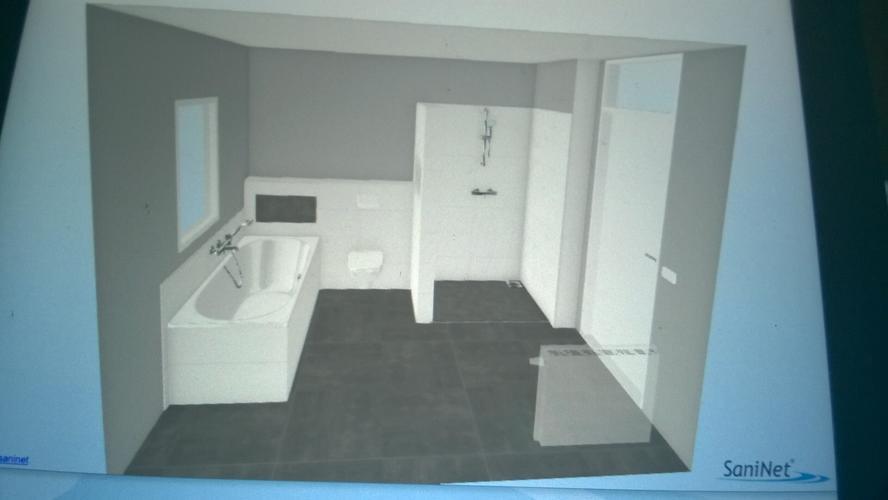 Gestucte Muur Badkamer : Badkamer stucen op natte delen na werkspot