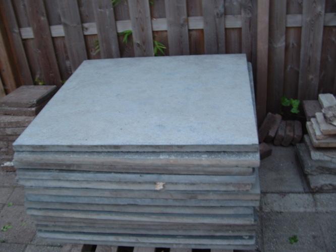 Tuintegels 1m Bij 1m.Natuursteen Terrastegels 1m X 1m X 30mm Leggen Werkspot