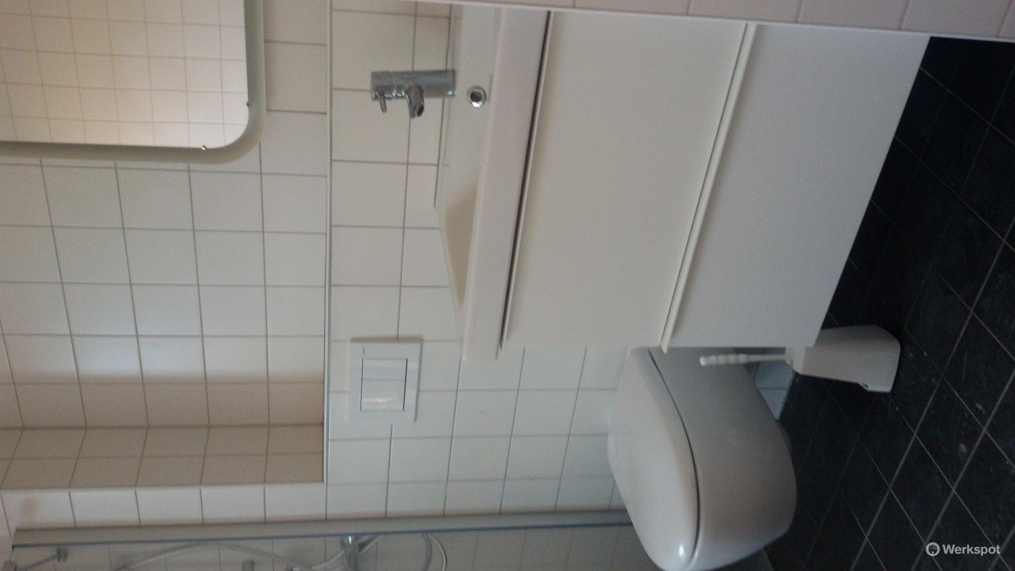 Badkamer Verplaatsen Kosten : Badkamer verbouwen bad plaatsen toilet en wastafel verplaatsen