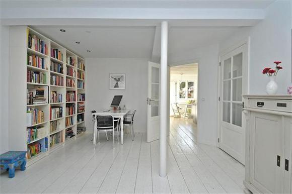 Witte Houten Vloer : Houten vloer wit schilderen