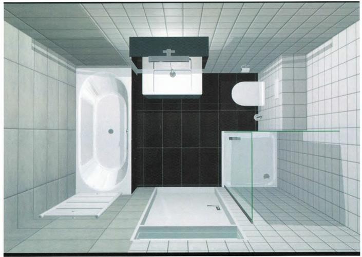 Badkamer verbouwen, muur verplaatsen, tegelen - Werkspot