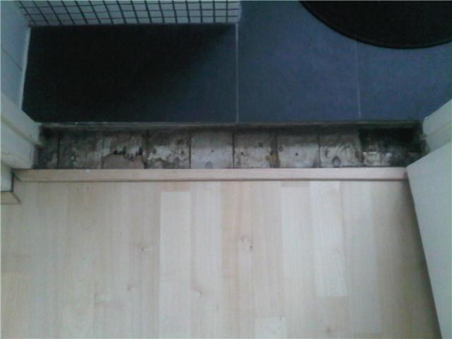 Drempel leggen in badkamer - Werkspot