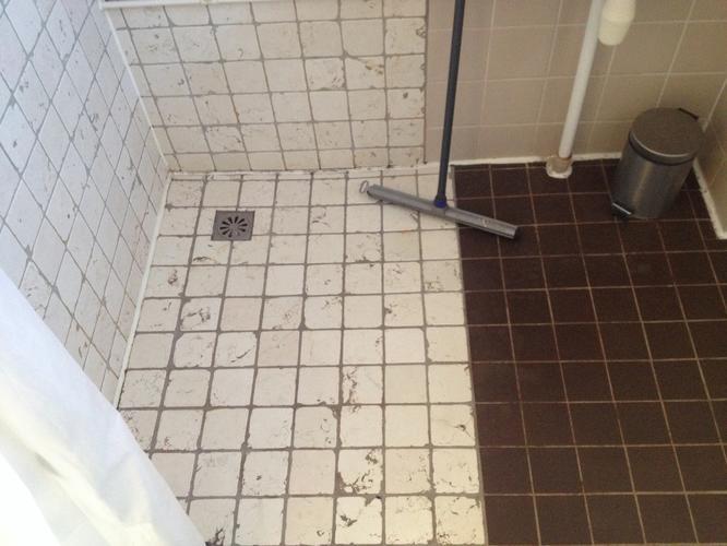 Badkamer tegels verwijderen nieuw sowie kraan badkamer