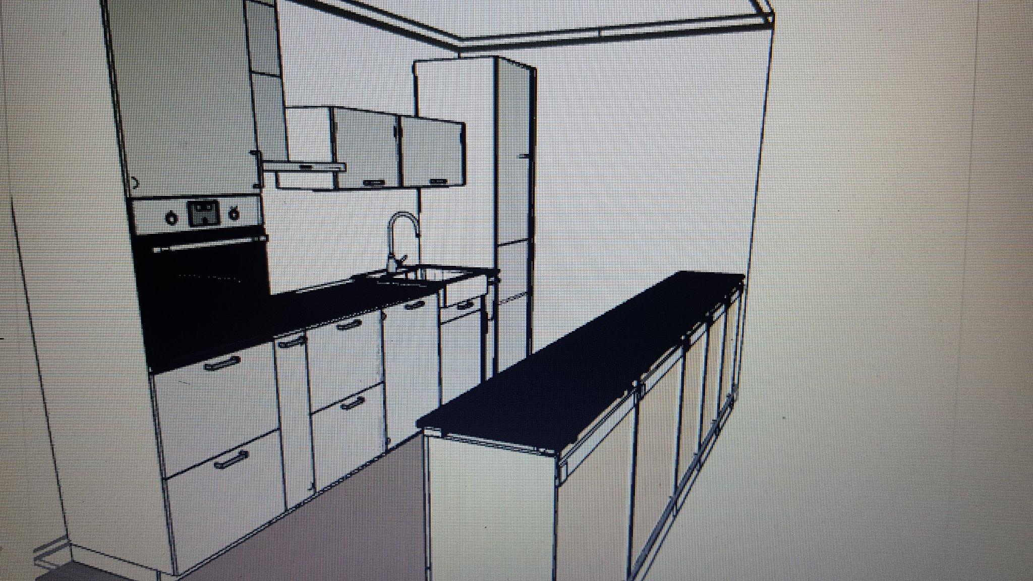keuken carrousel monteren : Ikea Hoekkast Carrousel Simple Tutemo Open Kast Antraciet Xx Cm