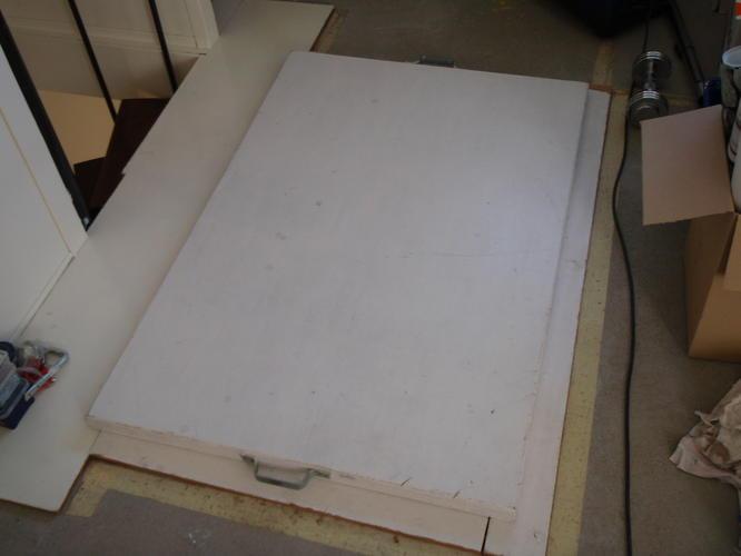 Afwerken zolder wand plaatsen werkspot for Trapgat maken