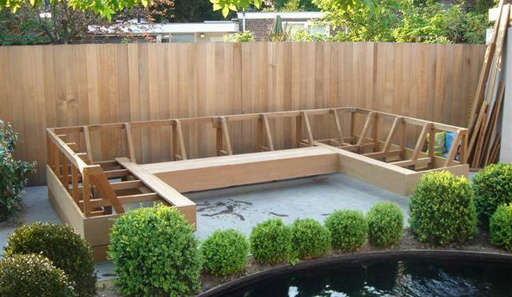 Hoek Loungebank Tuin : Hoekbank voor in de tuin werkspot