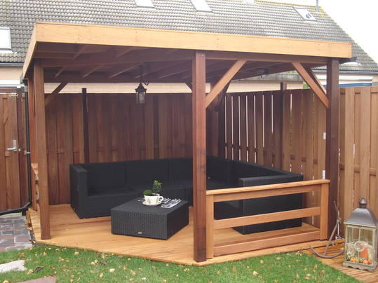 veranda maken in achtertuin - werkspot