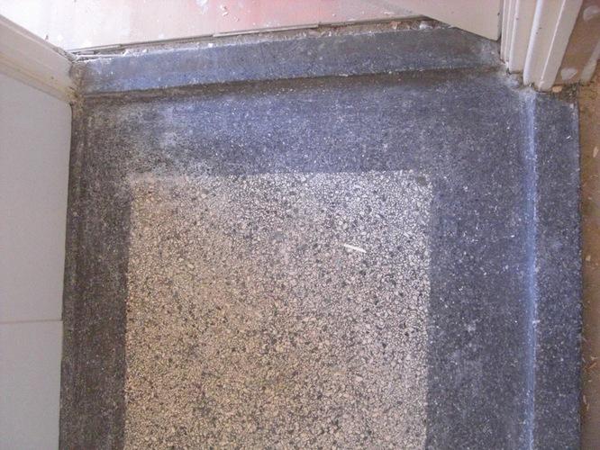 granieten vloer in badkamer weer mooi maken - Werkspot