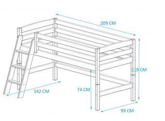 Spiksplinternieuw Twee halfhoogslapers van steigerhout maken - Werkspot EX-93