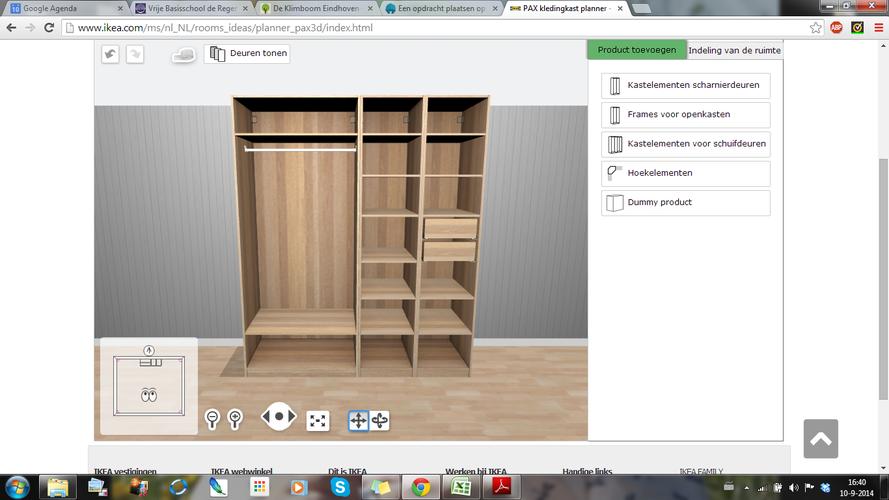 Kledingkast Ikea Werkspot
