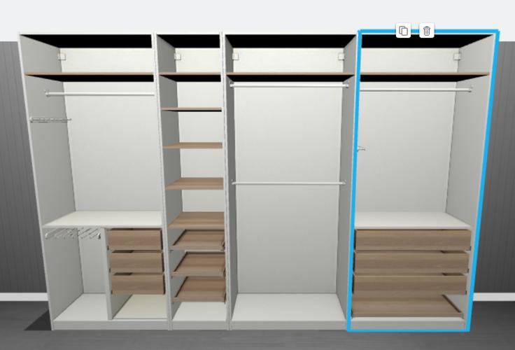 Ikea Pax Kast Monteren 2x 35 Meter Inkoopkast 25 Meter