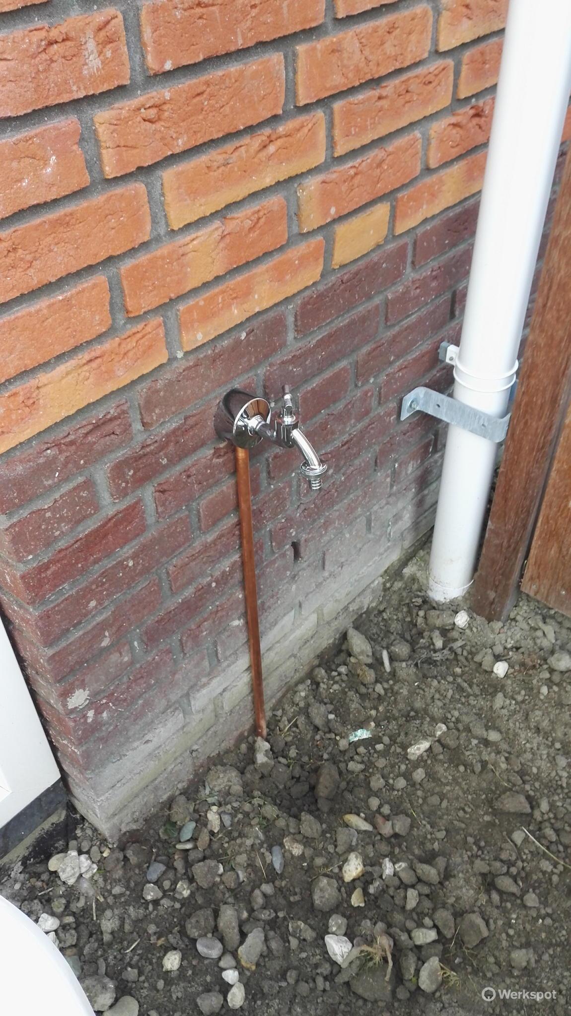 Uitzonderlijk Vorstvrij) Buitenkraantje aanleggen in nieuwbouwwoning - Werkspot DB45