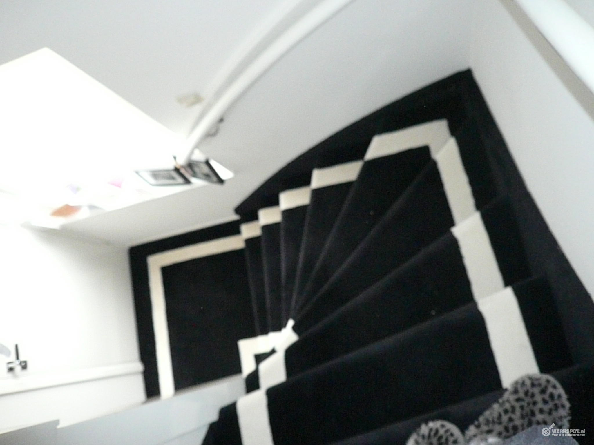 Trap stofferen 2 soorten tapijt werkspot