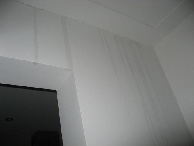 Reparatie van 2 scheuren in plafond na waterschade - Werkspot