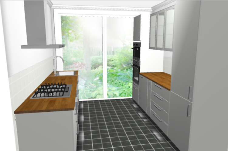 Plaatsen ikea keuken 3 1 x 2 7 meter werkspot for Ikea keukens 2015