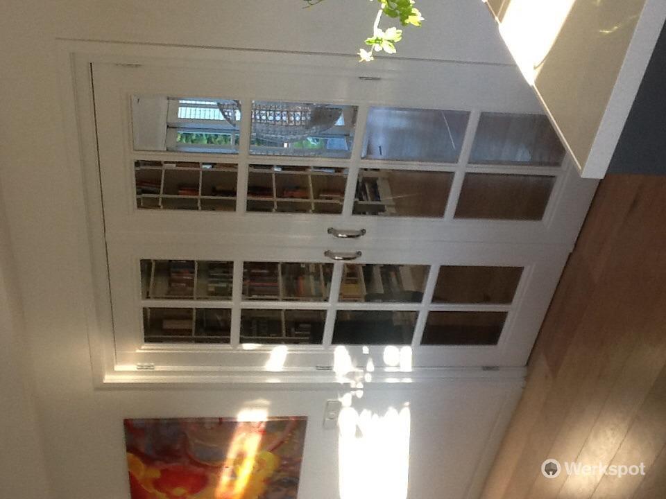 Binnendeur vervangen doort twee klapdeuren - Werkspot
