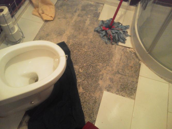 Wc repareren en de vloer betegelen werkspot