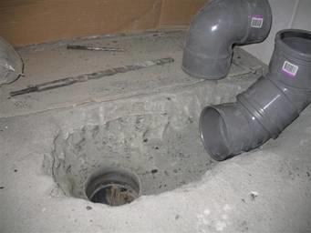 Afvoer Staand Toilet Verplaatsen Voor Hangend Toilet