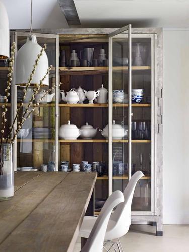 Wandkast Op Maat Met Glas Staal En Hout Werkspot