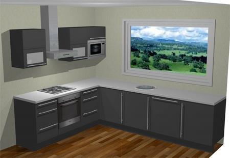 L Vorm Keuken : 3 02m bij 2 30m l vorm keuken montage werkspot