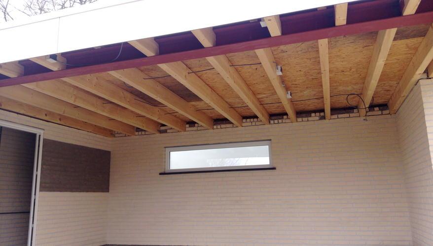 Fonkelnieuw Plafond maken in buiten overkapping - Werkspot KQ-98
