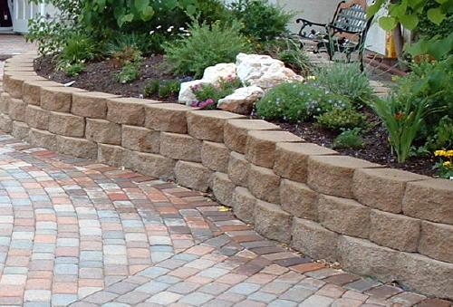 Rock Sidewalk Ideas