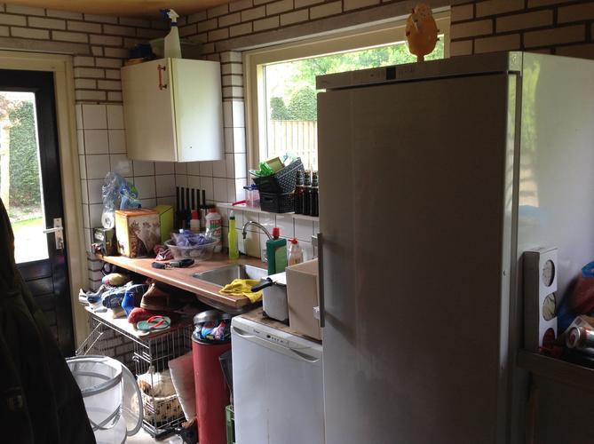 Garage ombouwen tot nette entree opberg en wasruimte werkspot