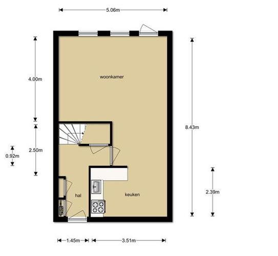 Stunning Afmetingen Woonkamer Images - House Design Ideas 2018 ...