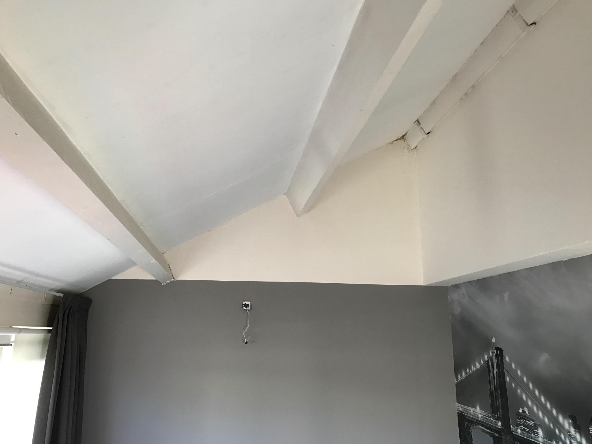 Plaatsen van een vliering op onze slaapkamer werkspot for Wanden nieuwbouwwoning afwerken