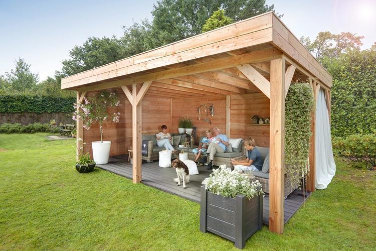 Veranda tuin overkapping werkspot for Bouwtekening veranda eigen huis en tuin