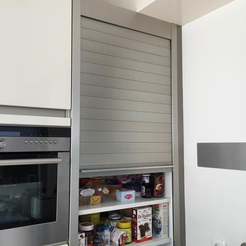 Plaatsen Binnendeur Siemens Koelkast En Maken Roldeur Kast
