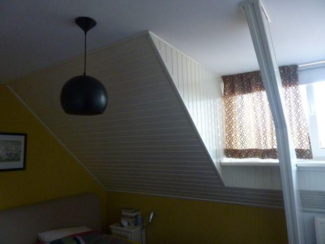 isoleren schuine wand slaapkamer ook stucen werkspot