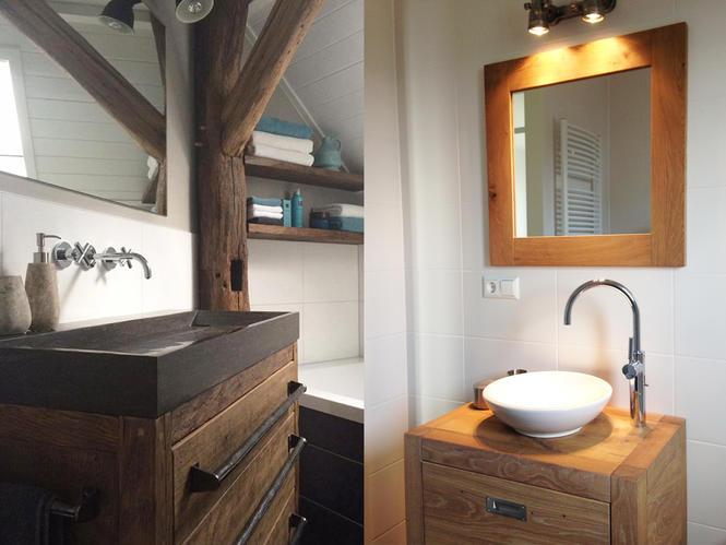 Badkamermeubel wasbak plaatsen afvoer zit in de grond ipv muur