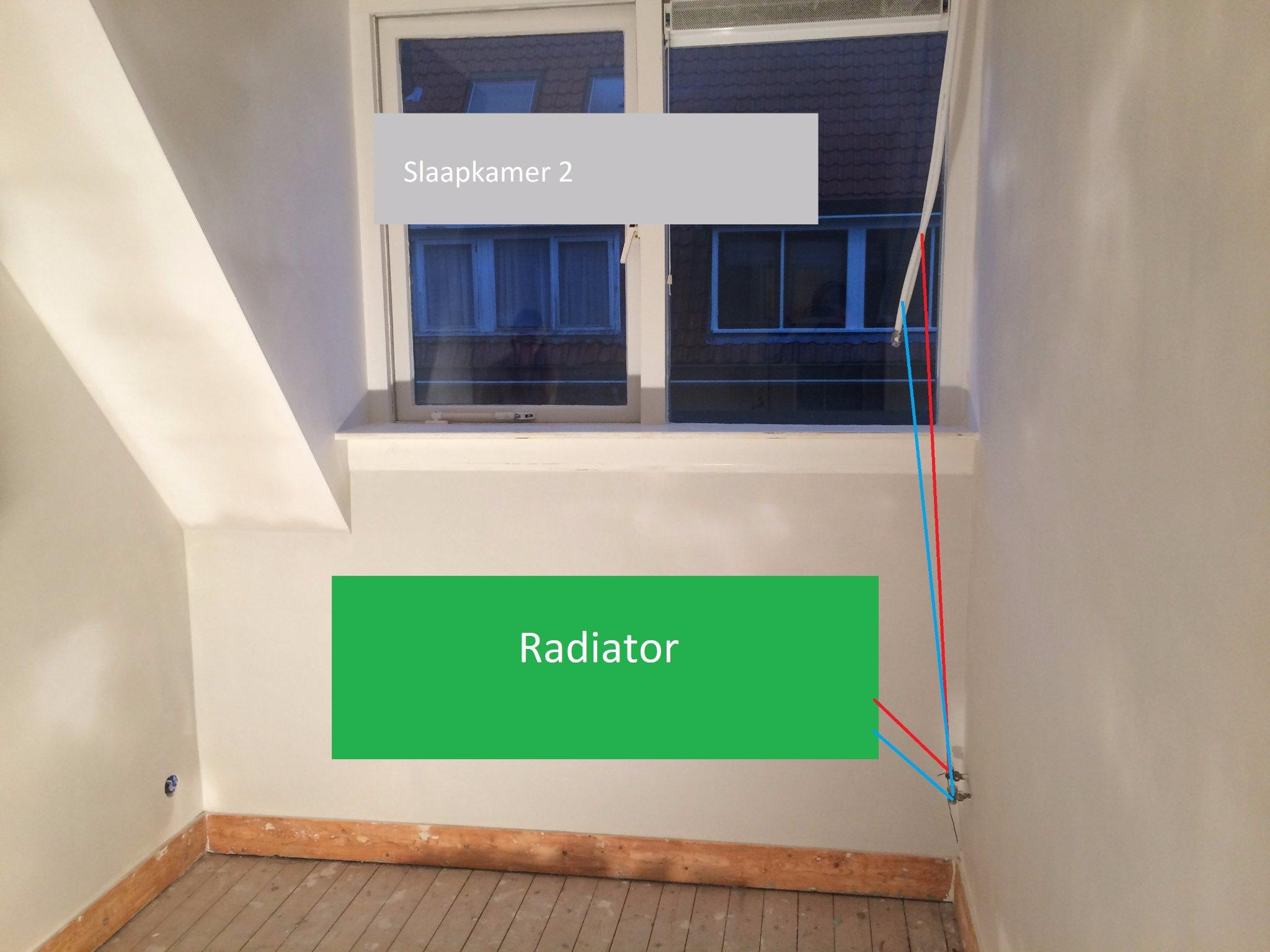Radiatoren plaatsen en aansluiten op flexibele buis - Werkspot