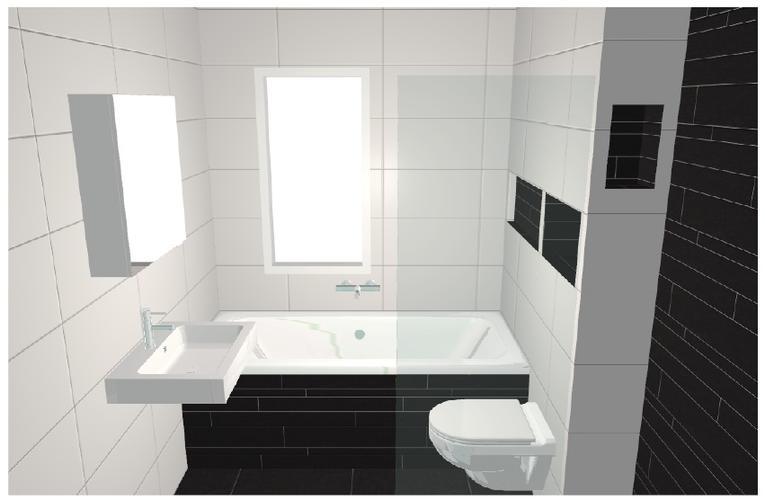 opdracht: badkamer en toiletruimte plaatsen in nieuwbouw woning (No ...