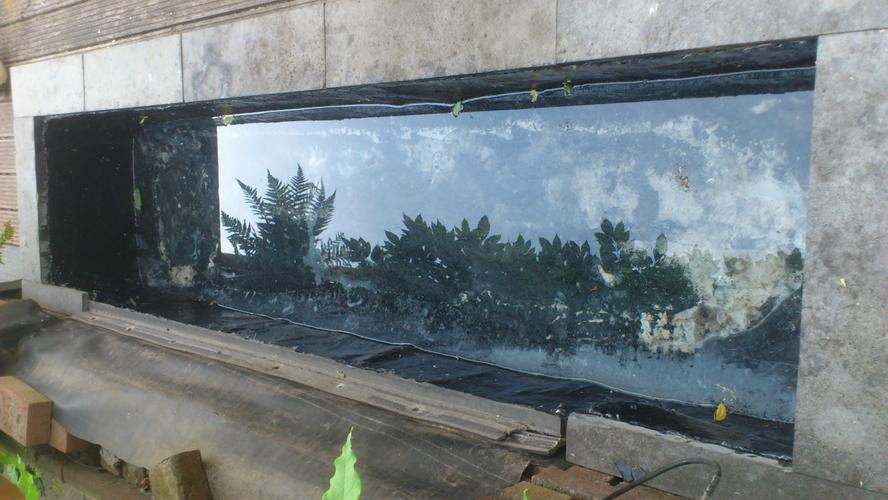 Vijverbak waterdicht maken werkspot for Betonnen vijver aanleggen